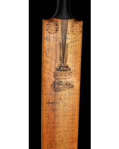 Autographed Cricket Bat
