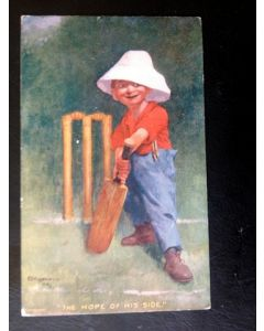 cricket cartoon postcards