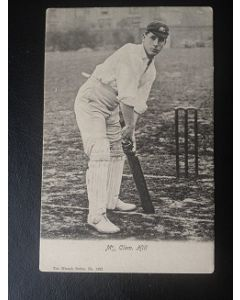 wrench cricket postcard of clem hill