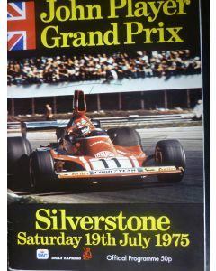 British Grand Prix at Silverstone 1975