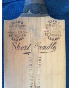 Signed Cricket Bat 1938 Australia v England 3