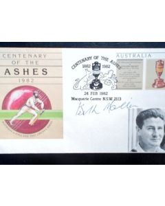 cricket autographs keith miller