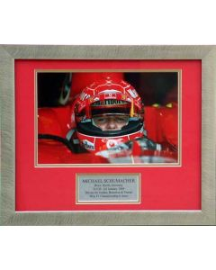 Michael Schumacher special edition photo