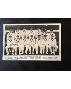 Australian Cricket Team 1930 Original Team Postcard + 1 Postcard South African Team 1929 1