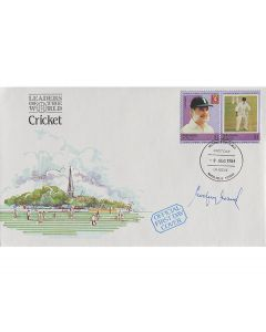 a colourful First Day of Issue cover, stamped 8th of August 1984