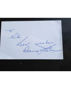 Gary Sobers Autograph