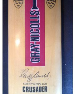 Australia v England 1975, Signed Cricket Bat 3