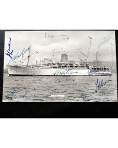 Iberia - tour to Australia 1958/59 signed by 18