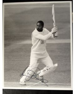 viv richards signed photo