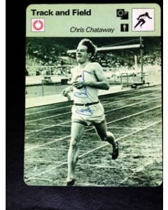 Chris Chataway signed photo