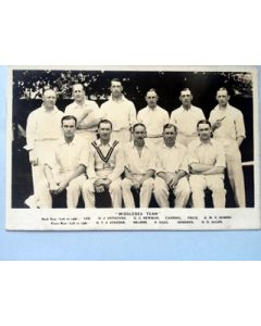 Middlesex CCC circa 1930s rpp