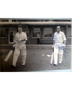brian close and phillip sharpe signed press photo