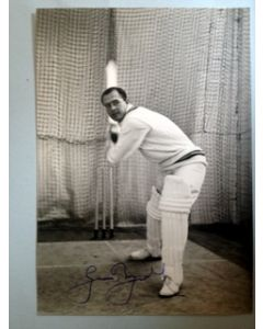 geoff boycott signed press photo