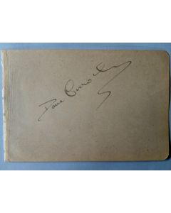 dave crowley boxing autograph