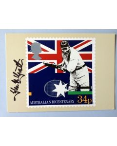 glen mcgrath signed card 2