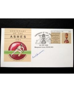 signed first day cover ron hamence