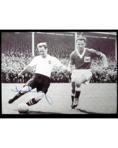 football autograph tom finney