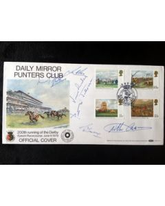 horse racing autographs