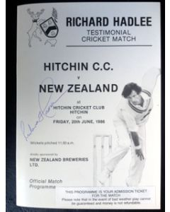 richard hadlee dinner menu