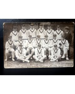 Australia Cricket Team 1926 Postcard