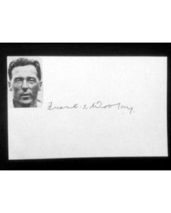 frank woolley autograph
