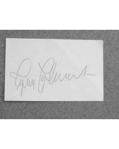 Ingemar Johansson World Heavyweight Boxing Champion Authentic Autograph