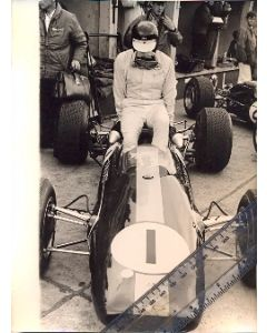 Jim Clark Lotus original period photo