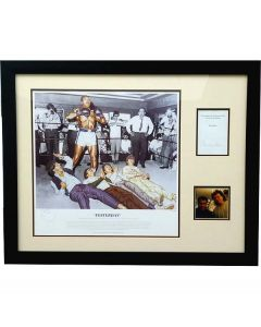 Ali with the Beatles - Signed presentation