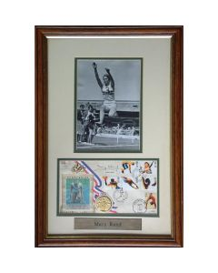 signed Olympic FDC/Medal Presentation - 1964