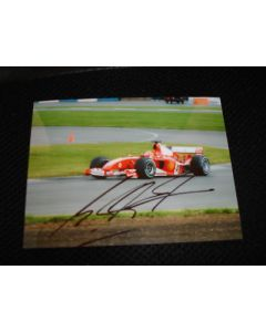 michael schumaker ferrari photo