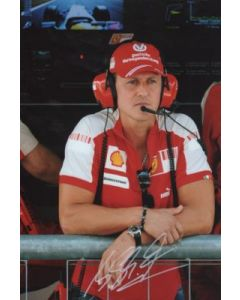 michael schumacher hand signed photo