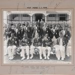 West Indies 1939 Team Photograph Signed by all 16 members of touring party